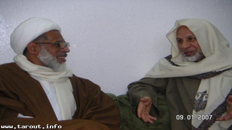 الجش : الشيخ محمد كاظم يستقبل الشيخ الحبيل