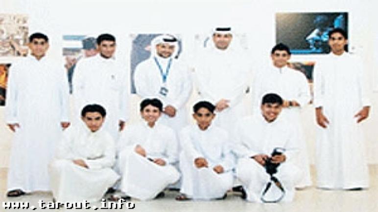 تاروت: طلاب «الخليل بن أحمد» بمعرض التصوير الضوئي